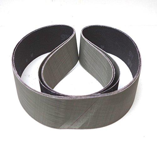 3 Stück 3M Trizact Schleifband 237AA | 50 x 1020 mm | z.B. für Metabo BS 175 / BS 200 | Körnung nach Wahl (A006 = P1200)