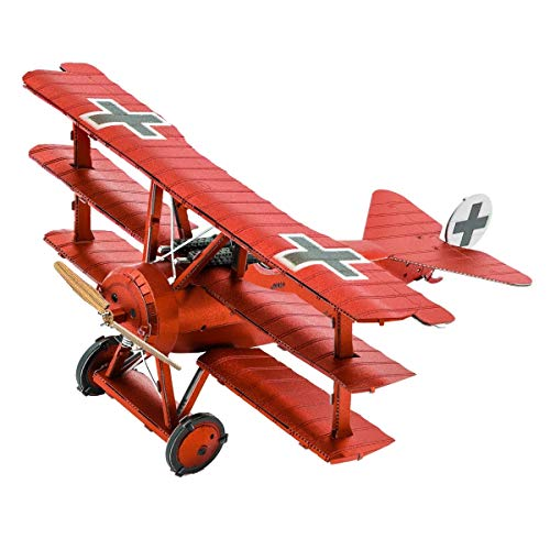 Fascinaciones Metal Tierra Fokker Dr. I Triplane 3D Metal Model Kit