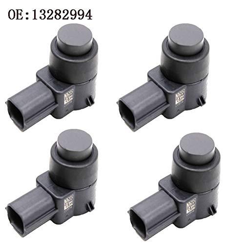 KEXQKN Preciso y Duradero, 4 PCS Original 3 Pines Ultraonic Sensor de Aparcamiento PDC 13282994 Sensor for Opel Buick GMC Cadillac Chevrolet Duradero (Color : Black)