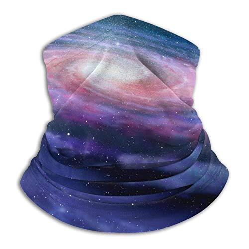 ASDTF Bufanda de microfibra en espiral para el cuello, para el frío, para invierno, deportes al aire libre, pasamontañas, unisex