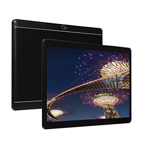 YXDS Tableta de Agujero Redondo 10.1 Pulgadas HD Pantalla Grande Android 5.1 Versión Tableta portátil de Moda 8G + 64G Tableta Negra