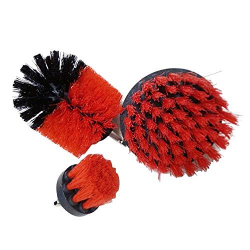 Tellaboull for Power Scrubber Brush Set, für Badezimmer, Bohren Scrubber Brush, zum Reinigen des kabellosen Bohrers, Reinigungsbürste