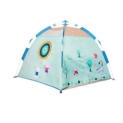 Tiendas de campaña de protección solar para exteriores, resistente al agua para acampar, casa de juegos multifuncional para niños, piscina de pelota de juego automática (tamaño: 120 x 120 x 108 cm)