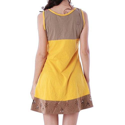 PANASIAM Dress, UGrSD237, in Coffee, M