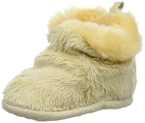 Döll Unisex Baby Babyschuhe Fäustlinge, Beige (Lambs Wool 1007), 1 (Herstellergröße: 1)
