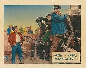Blood Alley Original British Lobby Card John Wayne 1955