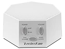 A white noise machine for minimalist baby room