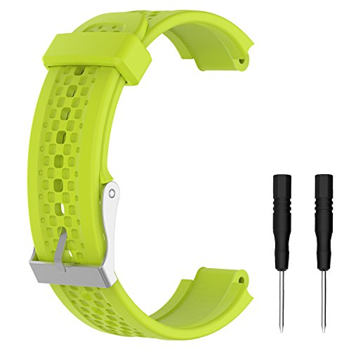 Weinisite Replacement Silicone Watch Band for Garmin Forerunner 25 Smart Watch (# 5, S) (Female)