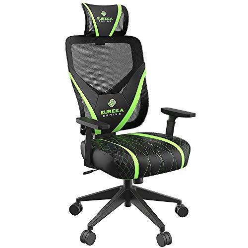 EUREKA ERGONOMIC Gaming-Stuhl ONEX grün