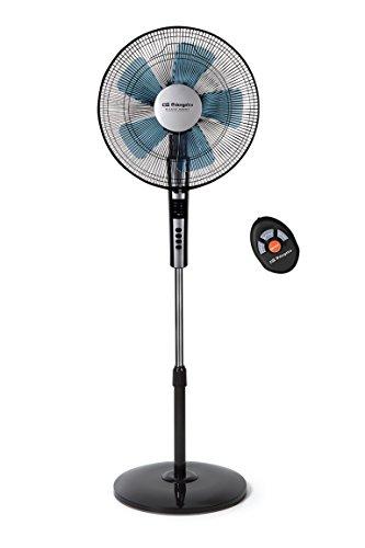 Orbegozo SF 0640 Ventilador Silencioso De Pie Con Mando A Distancia, Temporizador, 2...