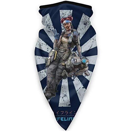AmyNovelty Magic Headband,Apex Legends Lifeline Retro Japonés Hombres Mujeres Diadema, Cómodas Diademas Mágicas para Correr En La Montaña,24x52cm