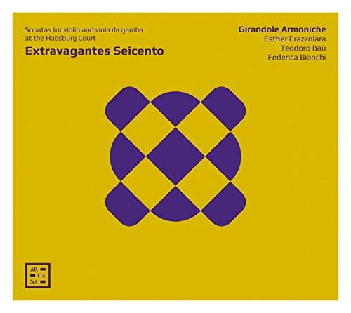 Extravagantes Seicento - Sonaten für Geige und Viola da Gamba am Habsburger Hof