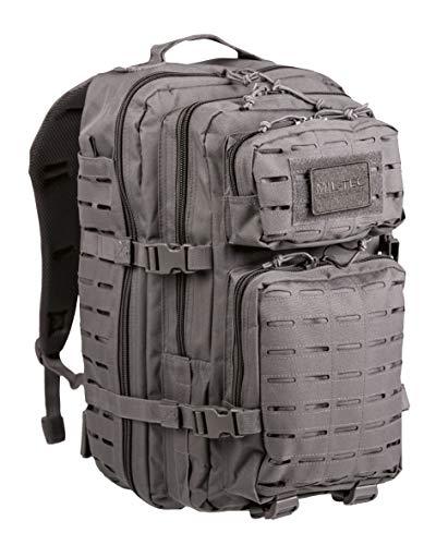 Mil-Tec US Assault Pack Grand Laser Cut Urban ,Urban Gris ,Large