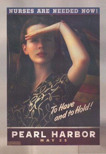 Pop Culture Graphics Pearl Harbor Poster C 27x40 Ben Affleck Josh Hartnett Kate Beckinsale