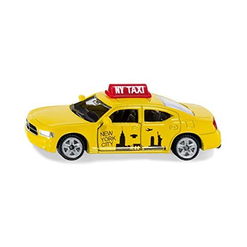 Siku 1490 Us-Taxi, Spielzeugauto Für Kinder, Metall/Kunststoff, Gelb, Öffnende Türen