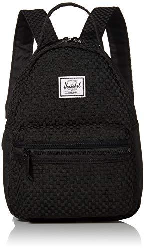 Herschel Backpack Nova Mini Woven Polyester Extra Small 9 Litre 28 x 20,5 x 12 cm (H/B/T) Unisexe Sacs à Dos (10501-Woven)