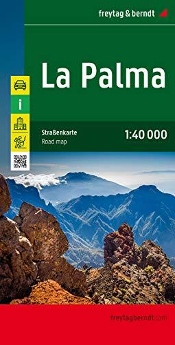 La Palma, mapa de carreteras. Escala 1:40.000. Freytag & Berndt.: Toeristische wegenkaart 1:40 000: AK 0518 (Auto karte)