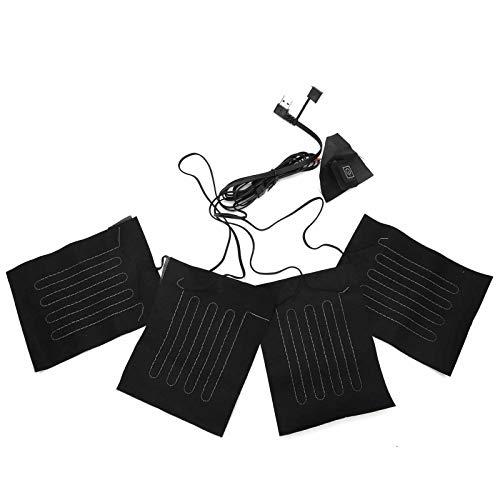Yinuoday USB Elektrische Heizkissen Tuch Erwärmung Beheizte Kleidung Weste Jacke Pads Heizdecke Beheizte Kleidung Weste Jacke Pads