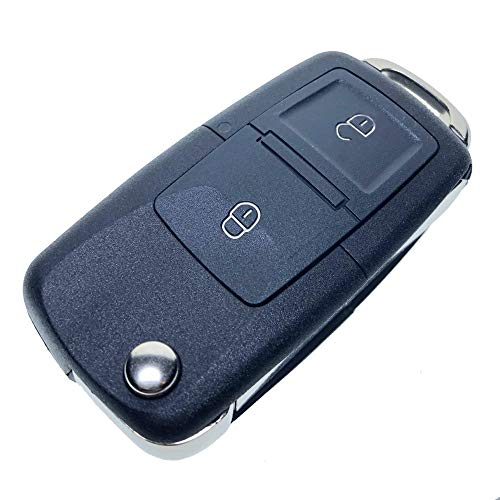 Uniqkey EURO Style All in One Flip key remote Replacement for Tundra GQ43VT20T chip-G Keyless Entry Control Fob Clicker switchblade Transmitter transponder RFID