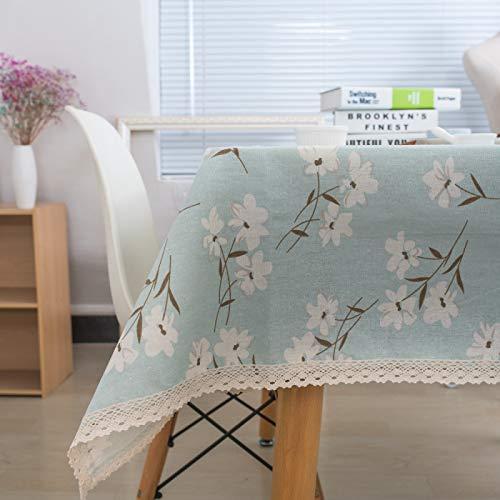 marca blanca Mantel de PVC con un paño de hule de vinilo para mesa de cocina, protector de 140 x 180 cm