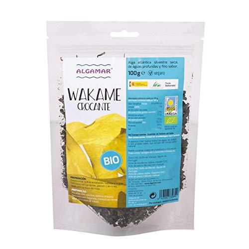 Alga Wakame crocante Algamar 100 GR