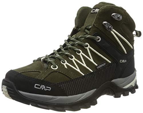 CMP Damen Rigel Mid Wmn Shoe Wp Trekking-& Wanderstiefel, Grün (Loden-Rock 03fd), 37 EU