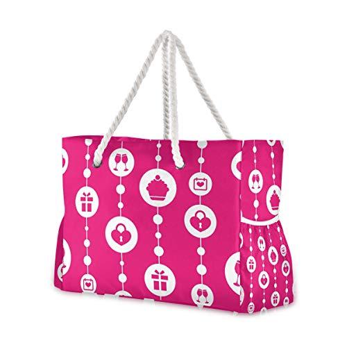 Montoj - Bolsa de playa para regalo de cumpleaños