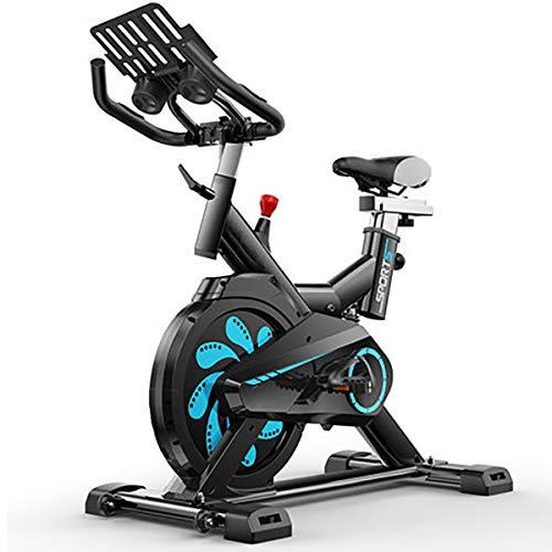 MARXIAO Indoor Cycling Bike, Justierbare Heimtrainer Mit LCD-Display Bequeme Sitzkissen & Position Verstellbarer Sattel