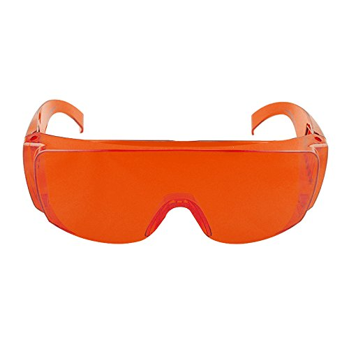 Dental Lab Protective Glasses Red Goggle Safety Glasses Protective Eye Curing Light Whitening