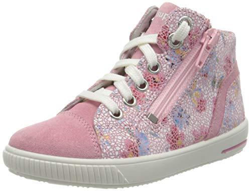 Superfit Mädchen Moppy Sneaker, Pink (Rosa 55), 22 EU