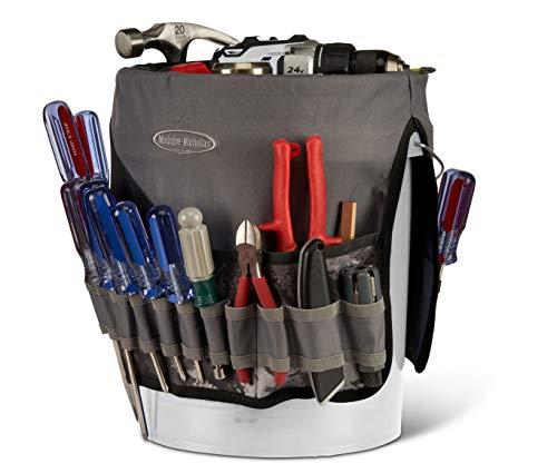 McGuire-Nicholas Bucket Organizer | Tool Organizer with 36 Pockets Designed for 5 Gallon Bucket