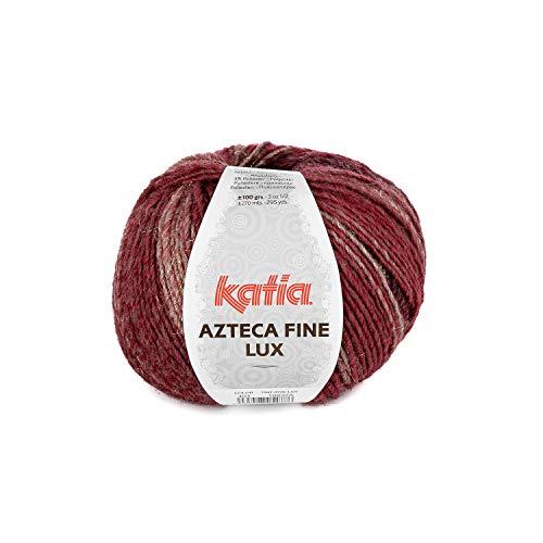 Katia Azteca Fine Lux - Farbe: Rojizos/Negro (404) - 100 g/ca. 270 m Wolle