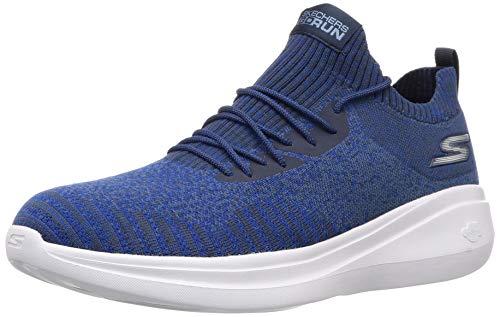 Skechers Men's Go Fast Blue Running Shoes-9 UK (10 US) (55104-BLU)