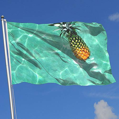 Nicokee Garden Yard Flag, Best Pineapple Flags 3x5 Home Flag Indoor Outdoor Fall Flags Wall Banners Decoration
