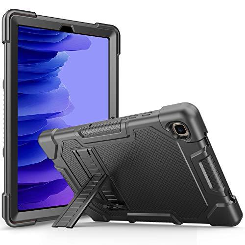 ProHülle Hülle mit Ständer für Galaxy Tab A7 10.4 Zoll 2020 (Modell SM-T500 / T505 / T507), Stoßfest Robust Schutzhülle Hülle -Schwarz