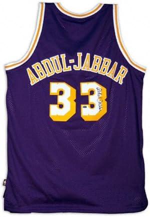 Amazon.com : Kareem Abdul-Jabbar Los Angeles Lakers Autographed ...