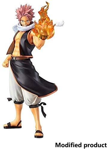 lkw-love PVC-Figur inklusive Flammeneffekt-Zubehör Fairy Tail: Natsu Dragneel - Spielzeug hoch 23cm (9 Zoll) Hochdetaillierte Skulptur Anime Spielzeug Figur Statue