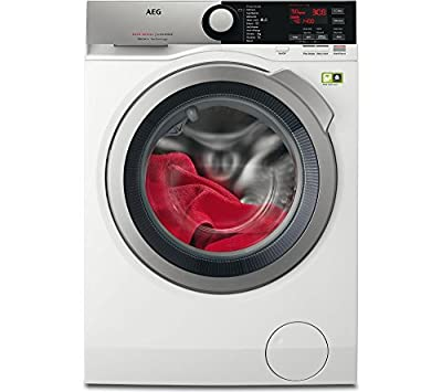 AEG L8FEE965R 8000 series Freestanding Washing Machine with ProSteam Technology, 9kg load, 1600rpm, White