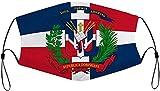 Republica Dominicana - Mascarillas reutilizables lavables ajustables a prueba de polvo para hombre -...