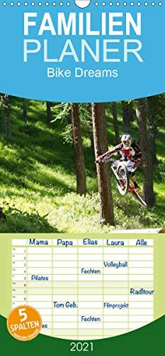 Bike Dreams - Familienplaner hoch (Wandkalender 2021, 21 cm x 45 cm, hoch)