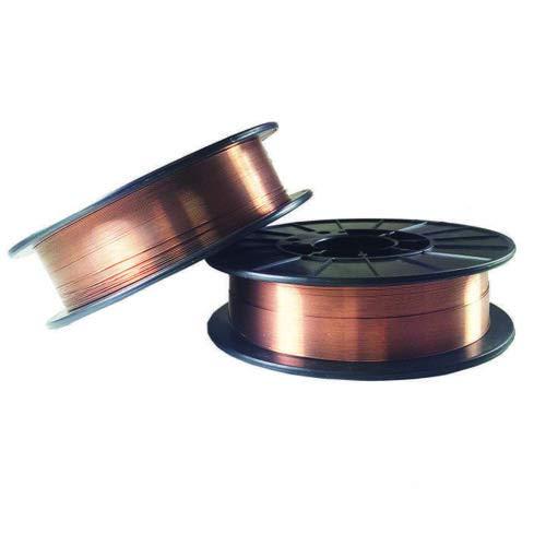2 Rolls ER70S-6 .023' .030' .035' 10-LB Spool Mild Steel MIG Welding Wire (2 Rolls of 0.035')