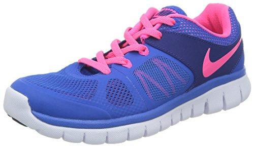 Nike Flex 2014 Run (GS) Laufschuhe hyper cobalt-hyper pink-deep royal blue-white - 38