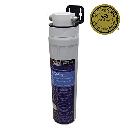 Watts Premier Pure H2O High Capacity Carbon Block Filtration System, H2O-DWCB100