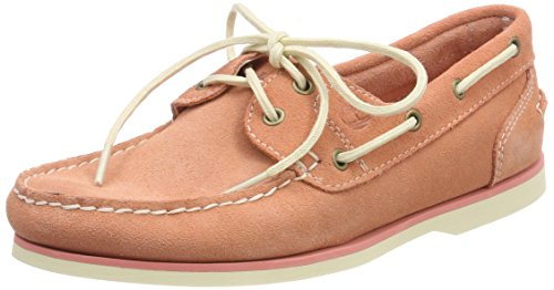 Timberland Damen Classic Leather Mokassin, Pink (Crabapple Suede K41), 39,5 EU