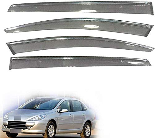 XGFCNB, para, para Peugeot 307 Hatchback Sedan 2010 2011 2012 2013 2014 Puerta de Coche Ventana de Humo Parasol Lluvia Visera Deflector de Viento Protector