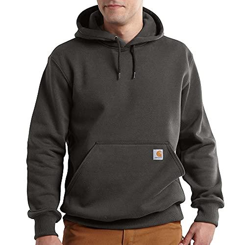 Carhartt Men s Rain Defender Paxton Heavyweight Hooded Sweatshirt, Peat, Large