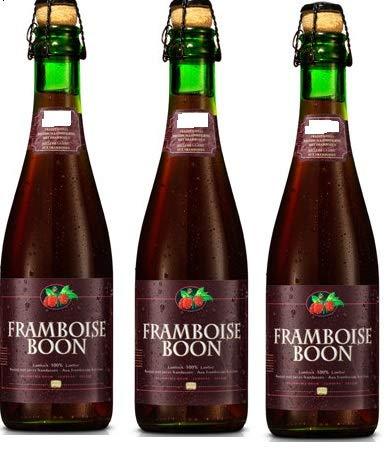 3 Flaschen Framboise Boon Lambic Ale Flavored with Real Rasberrie Bier mit Himbeeren a 375ml 5% Vol. Jahrgang 2016 MHD bis 17.04.2020 inc. 0.45€ MEHRWEG Pfand