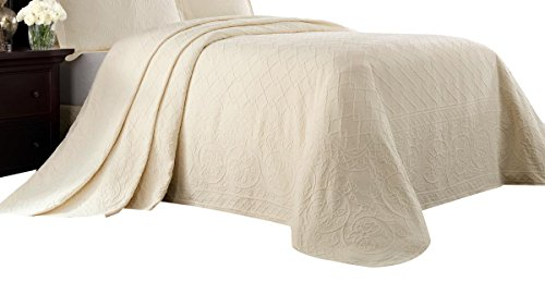 Save %8 Now! Williamsburg Ivory Full Richmond Bedspread