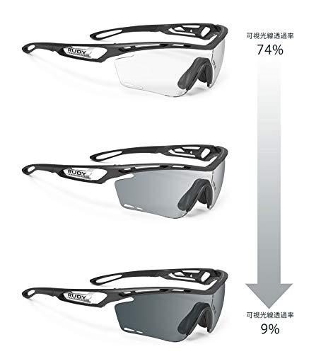 Rudy Project Tralyx Brille Graphene Black/Black - impactx photochromic 2 Black 2020 Fahrradbrille