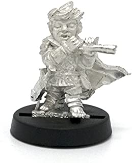 Stonehaven Halfling Fife Player Miniature Figure (for 28mm Scale Table Top War Games) - Made in USA